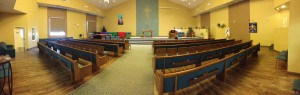 2013 Easter sanctuary panorama